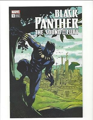 Black Panther The Sound and The Fury #1 EBAY EXCLUSIVE Sanford Greene Variant NM