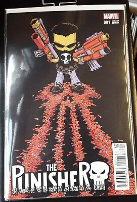 The Punisher #1 NM , Bagged and boarded, Scottie Young Variant
