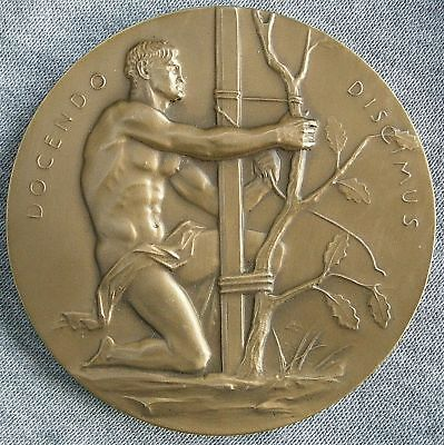 Horace Mann Hall of Fame for Great Americans Medal, 1971 by C. Paul Jennewein