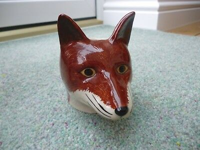Quail Pottery Fox Egg Cup Easter Gift