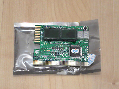 PC DIAGNOSE KARTE v.3 PCI Diagnostic Card mit LCD Display