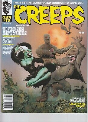 The Creeps Magazine Issue #13 Illustrated Horror Spring 2018