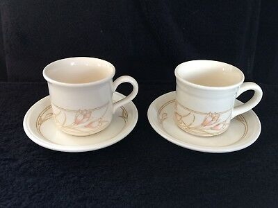 2 x Biltons Spring Bouquet Cups and Saucers FREEPOST