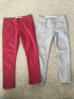 Girls Skinny Jeans Age 4-5 Immaculate Condition