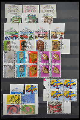 Lot 28484 Collection stamps of Switzerland.