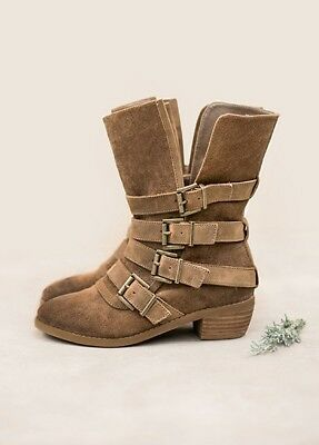 Joyfolie Londyn Boots Tan Toddler Sizes 10, 8 Toddler Retail $96
