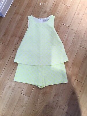 zaras girls short suit age 9 to 10 years
