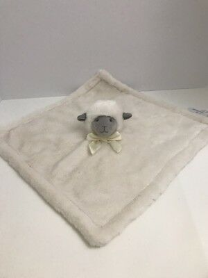 Pottery Barn Kids Monique Lhuillier LAMB Security Blanket IVORY