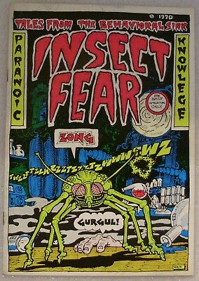 Insect Fear, # 1, 1st. Print   Underground Comix