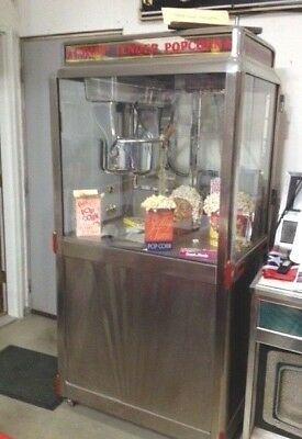 1942 Movie Theatre Popcorn Machine by Star Manufacturing
