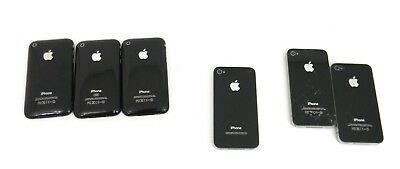 Lot of (6) Apple iPhone 3G, 4, 4S (A1303, A1349, A1332) | Power Tested Only