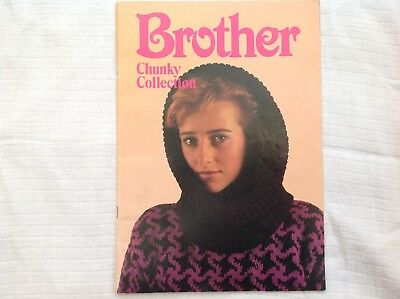The Brother Chunky Collection - patterns for chunky Knitting Machine