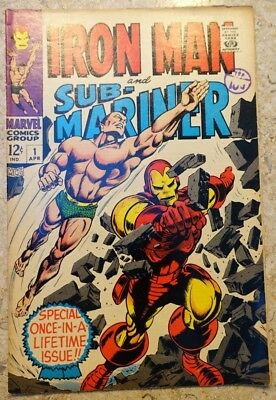 Iron Man And Sub-Mariner #1 Special Once-In-A-Lifetime Issue!