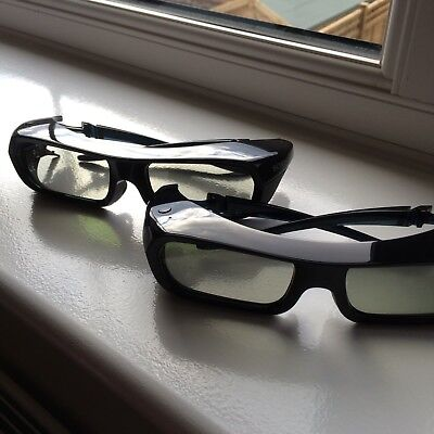 2 pairs 3D glasses from Sony un-used