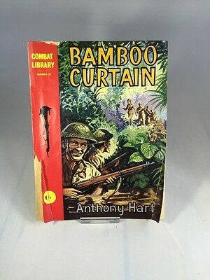Bamboo Curtain - Combat Library No. 39 By Anthony Hart - War Comic Book, RARE