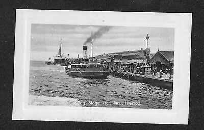 ROYAUME-UNI - ANGLETERRE - LIVERPOOL - Landing Stage from River