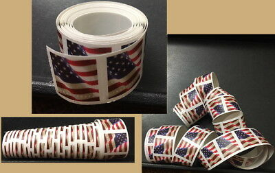 A Roll100 Forever 49¢ United States Current Postage Stamps In New Mint Condition