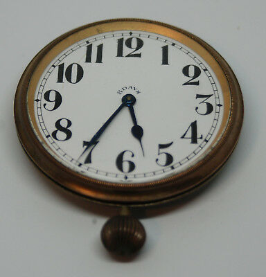 Travel clock without case