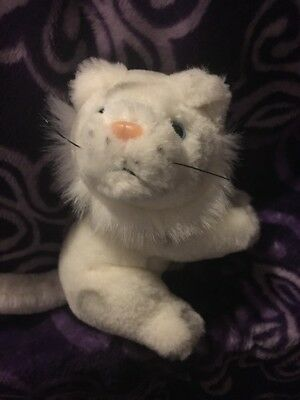 Siegfried And Roy At The Mirage White Tiger Plush 1999 6 Inches