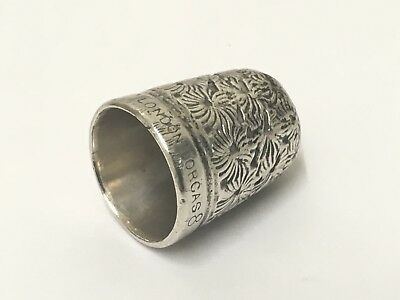 Rare 'London Dorcas' Thimble Size 8