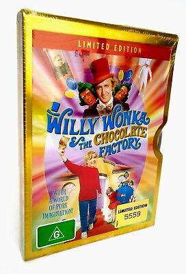 Willy Wonka and the Chocolate Factory-DVD 2006 Limited Edition Metal Case-Number