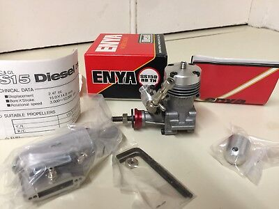 A lovely Enya SS 15 Diesel model aircraft engine new in box
