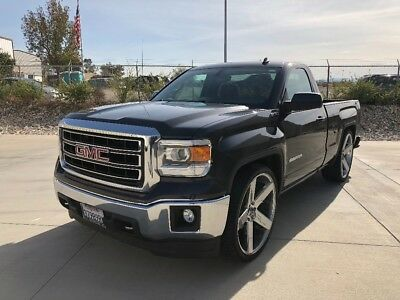 2014 GMC Sierra 1500 Chrome Custom single cab short bed GMC Sierra