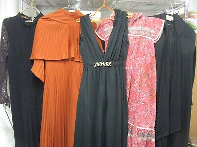 Vintage Clothing Lot 1970'S 70S  Palazzo Pantsuit Dress Lot of 5 70'S Clothing