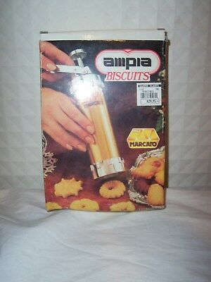 Vintage New Boxed Set From Ampia Biscuit Maker