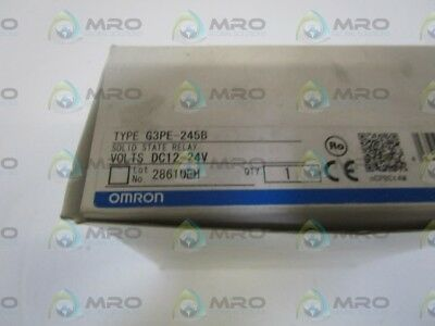 Omron Solid State Relay G3Pe-245B *new In Box*