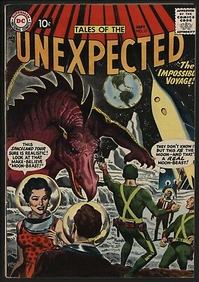 TALES OF THE UNEXPECTED #17 FANTASTIC COVER! RARE! ONLY 8 ON CGC 2nd HIGHEST 7.5