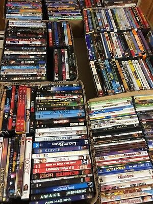 Lot of 250 Used Mixed DVD Movies REDUCED PRICE!