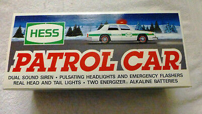 1993 HESS PATROL CAR,  MINT in its Original Box