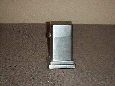 VTG Zippo Barcroft Table Lighter Chrome VTG ZIPPO LIGHTER