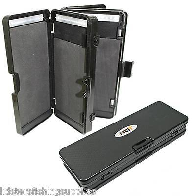 New Ngt Carp Coarse Fishing Rig Wallet 6 Dividers Holds 72 Hair Rigs Tackle 920