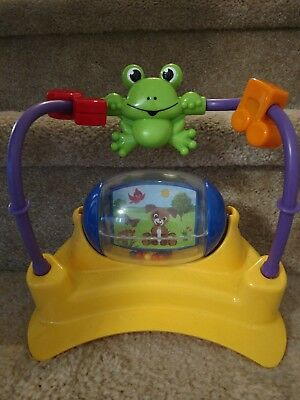 Baby Einstein Jumperoo REPLACEMENT SPINNER Mirror Frog PART
