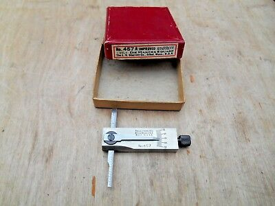 Vtg. Starrett No. 457 A , Die Makers Square