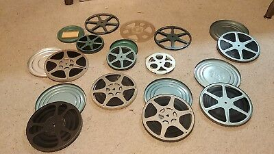 9 Reels 8mm Home Movies 1 Family 1960's Plus 3 empty reels
