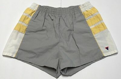 Vintage Jantzen Mens Swim Running Shorts Trunks Size 38 Gray Lined Drawstring