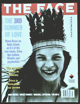 The FACE Magazine No 22 July 1990 KATE MOSS.