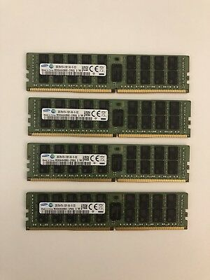 128 GB DDR4 Registered ECC RAM 32 GB x 4 Server Workstation Memory
