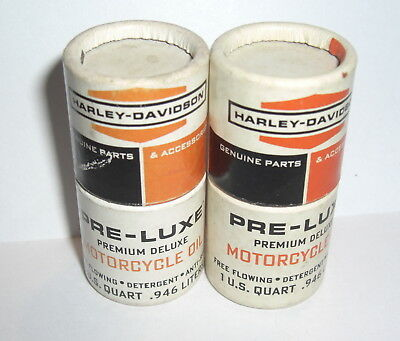 Vintage Harley Mini Match Holders (2 Of Em) Pre-Lux Motorcycle Oil Can Pan/knuck