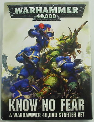 Wahammer 40K 40,000 Know No Fear Starter Set Space/Plague Marines GAW40-03
