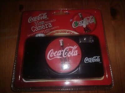 New Collectible Coca Cola Coke 35mm Reusable Camera Viewfinder, Easy Load, Flash