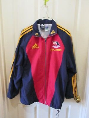 Adidas AFL Adelaide Crows On Field Jacket Size S