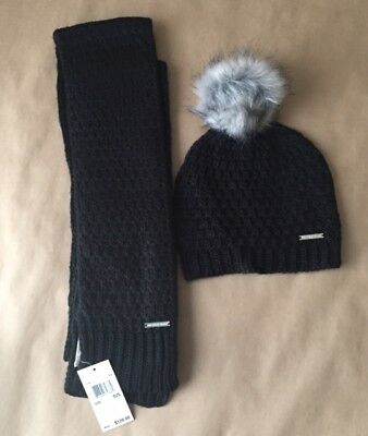 New Michael Kors Beanie and Scarf Gift Set - $128 Retail