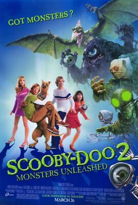 Scooby-Doo 2: Monsters Unleashed 11x17 Movie Poster (2004)