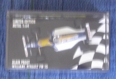 Alan Prost Williams FW 15 Limited Edition F1 Weltmeister 1993 1:64