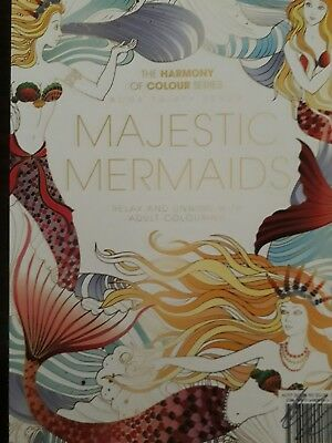 Book 37 The Harmony of Colour Series Colouring Book MAJESTIC MERMAIDS NEW