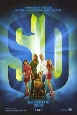 Scooby-Doo 11x17 Movie Poster (2002)